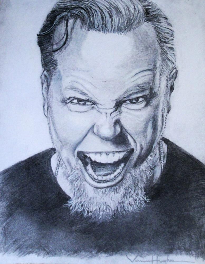 James Hetfield por Vannagain